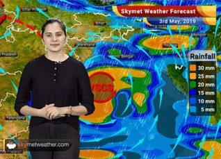 Weather Forecast May 3: Cyclone Fani to make landfall near Puri, Heavy rain in Odisha, West Bengal Andhra
