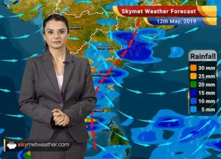 Weather Forecast May 12: Dust storm and thundershowers in Delhi, Punjab, Haryana, Rajasthan and UP, pollution to worsen