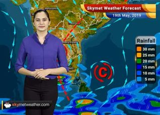 Weather Forecast May 19: Rain in Northeast and South India, dry weather in Central and parts of Northwest India
