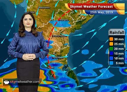 Weather Forecast May 25: Dust storm, rain in Delhi, Punjab, Kerala, Bengaluru, heat wave in MP, Vidarbha