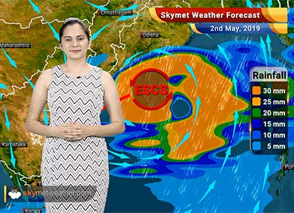 Weather Forecast May 2: Extremely Severe Cyclone Fani to bring very heavy rains in Odisha, Andhra Pradesh, sea conditions to be very rough