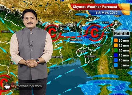 Weather Forecast for May 6: Dry weather in most of India, heat wave to make a come back in north and central parts