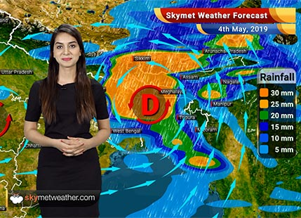 Weather Forecast for May 4: Heavy rain in West Bengal, eastern Bihar and eastern Jharkhand