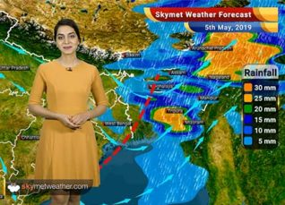 Weather Forecast for May 5: Light to moderate rains in Arunachal Pradesh, Assam and Meghalaya