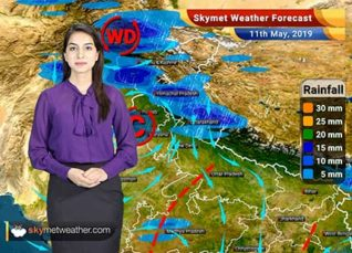Weather Forecast for May 11: Dust storm and thundershower in Punjab, Haryana, Rajasthan, Uttar Pradesh and Delhi