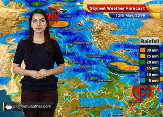 Weather Forecast for May 12: Rain and thunderstorm to affect the entire country
