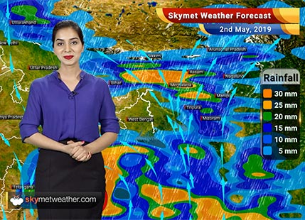Weather Forecast for May 2: Extremely Severe Cyclone 'Fani' to bring heavy rains over Andhra Pradesh and coastal Odisha
