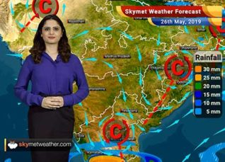 Weather Forecast for May 26: Bihar, Jharkhand, Gangetic West Bengal, Karnataka and Kerala to witness rains