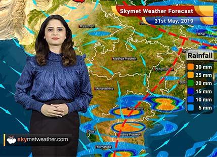 Weather Forecast for May 31: Nagpur, Chandrapur, Wardha, Aurangabad and Nanded under severe heat wave/ नागपूर, चंद्रपूर, अकोला, वर्धा, औरंगाबाद, नांदेड, लातूर आणि मालेगाव मध्ये तीव्र उष्णतेची लाट