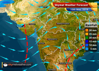 Weather Forecast for May 10: Rajasthan, Punjab, Haryana and Delhi to witness dust storm