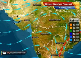 Weather Forecast for May 9: Delhi and Central India to witness dry weather, Andhra Pradesh to receive rains