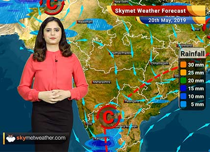 Weather Forecast for May 20: Southwest Monsoon 2019 marks its onset over Andaman and Nicobar Islands, more rains coming up for South and Northeast India