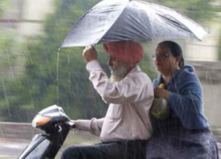 Rain in Punjab and Haryana