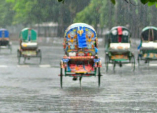 Rain in Bangladesh