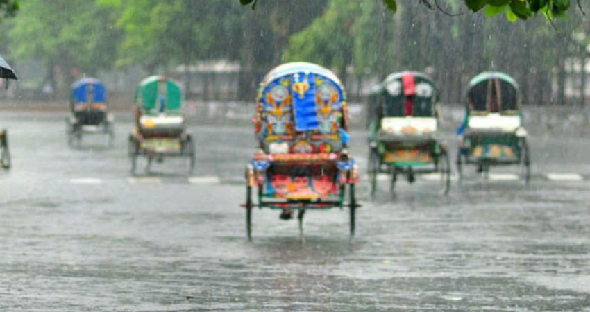 Rain in Bangladesh