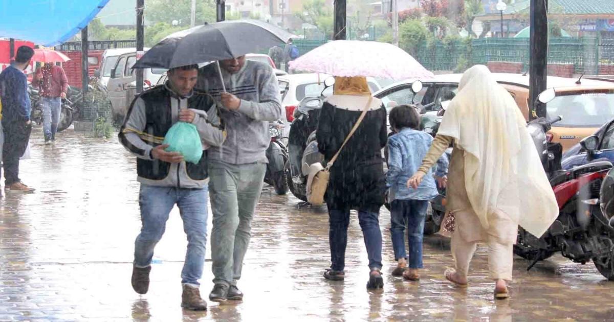 Rain in Jammu-Kashmir, HImachal Pradesh and Uttrakhand