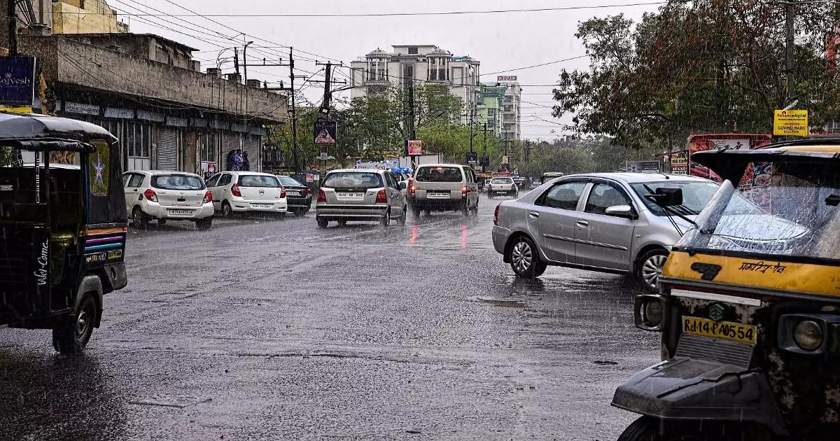 Jaipur Rain