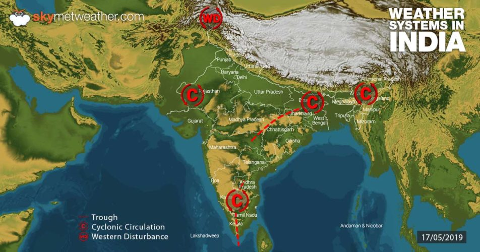 Weather-Systems-in-India-17-05-2019---1200
