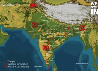 Weather forecast for India on May 23