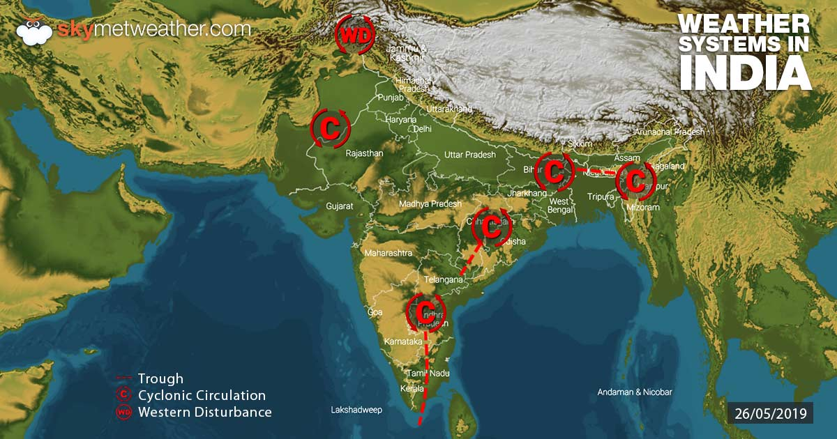 Weather-Systems-in-India-26-05-2019---1200