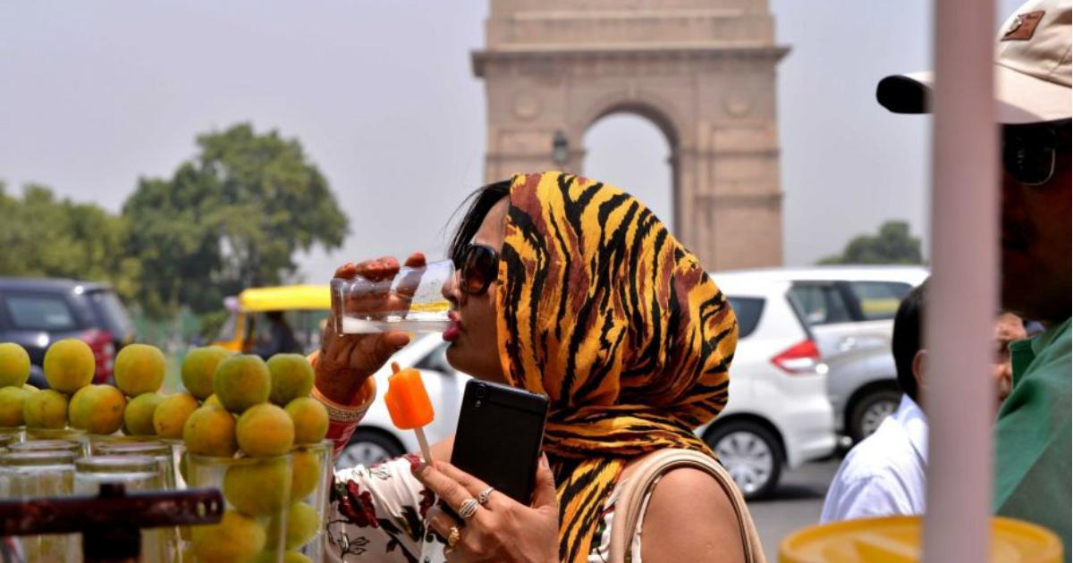 Heat wave in Delhi