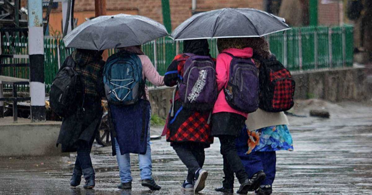 Rains in jammu-kashir,Himachal and Uttrakhand continue till may 3