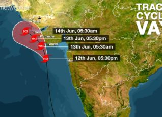 Cyclone Vayu Latest Track