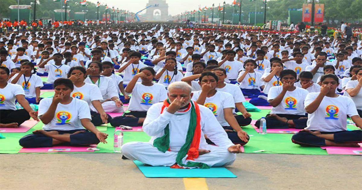 5th International Yoga Day