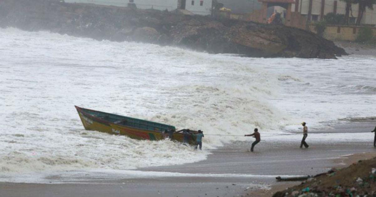 Cyclone Vayu veraval