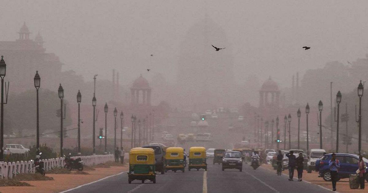 Relief from heat wave in Delhi
