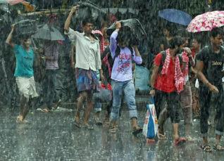 Rain in West Bengal, Odisha