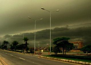 Cyclone Vayu and Pakistan rains