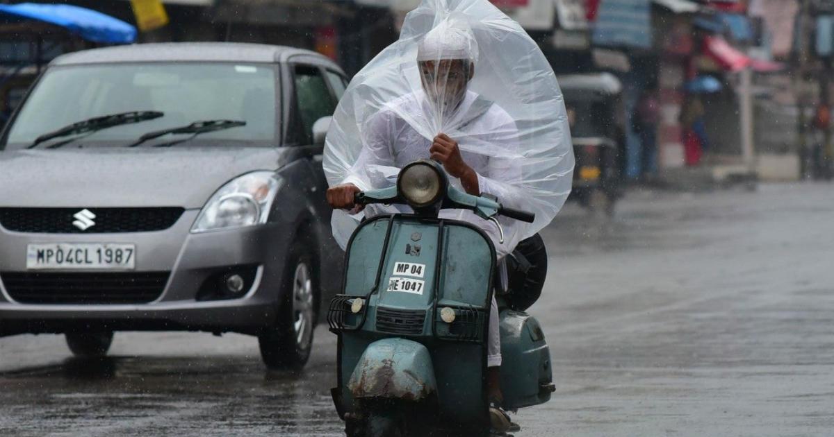 Cyclone Vayu and rains in Bhopal
