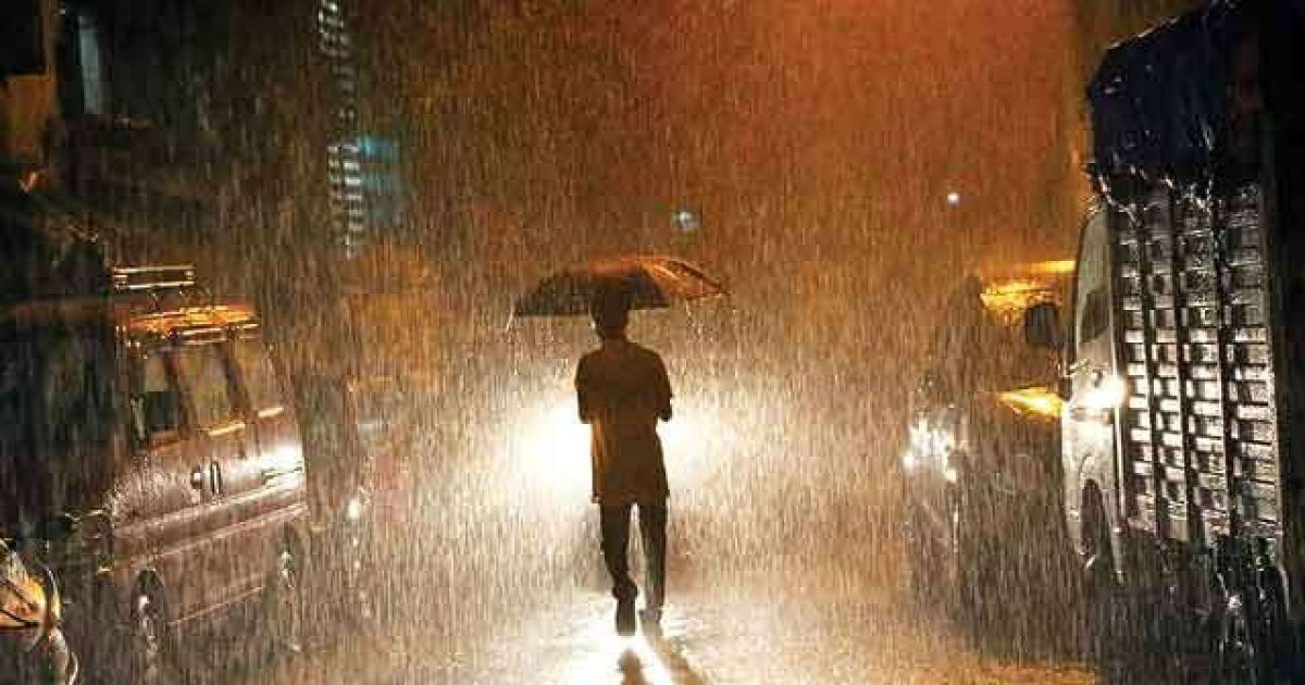 Rain in Andhra Pradesh and Tamil Nadu