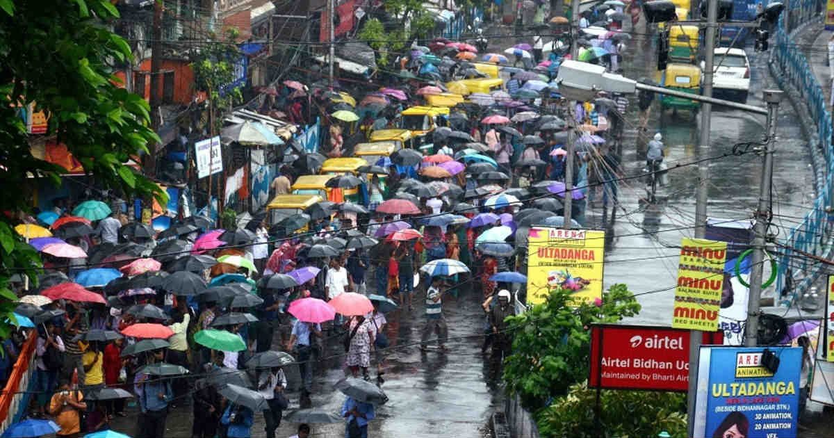 Rain in Odisha and West Bengal