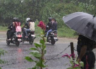 Rain in Dehradun, Kullu
