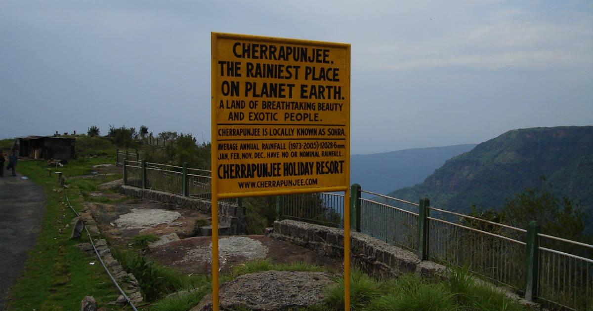 Torrential Rains in Cherrapunji