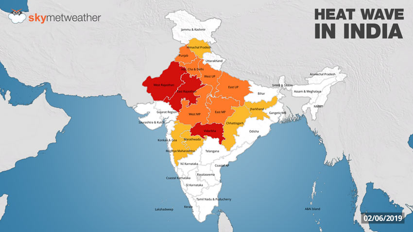 Heat wave in India