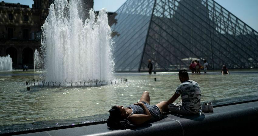 France Heat wave