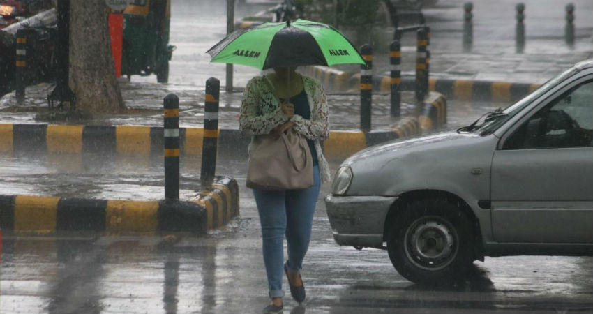 Rain in Delhi and NCR