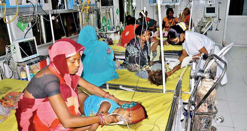 Deaths in Bihar due to heat wave