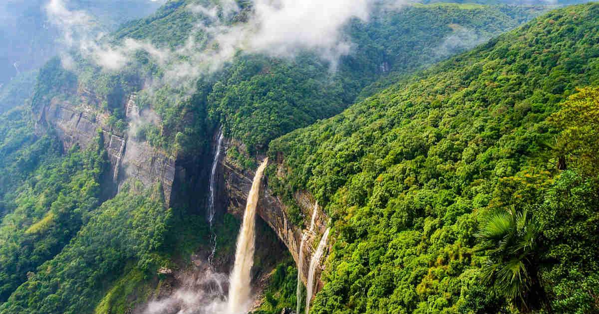 Meghalaya Cherrapunjee rains fb
