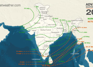 Monsoon Reaches Northeast India