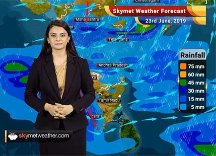 Weather Forecast June 23: Rains to increase over Ahmedabad, Indore, Khargone, Aurangabad and Akola