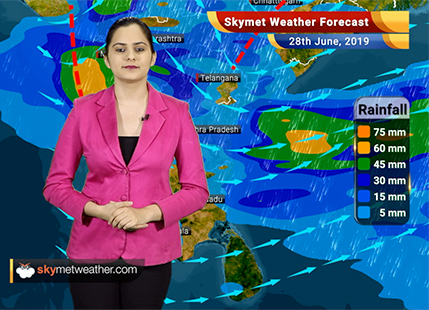 Weather Forecast June 28: Active Monsoon to give heavy Mumbai rains, flooding rains in Assam, Meghalaya, Arunachal