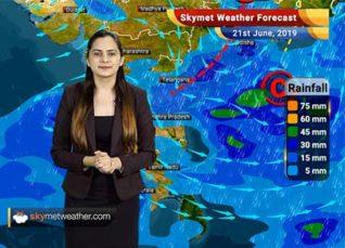Weather Forecast June 21: Heavy rain in Coastal Karnataka, Goa, Maharashtra, Andhra, Odisha