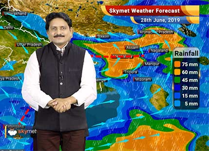Weather Forecast for June 28: Rains will pic up pace in Mumbai and Kolkata, Chennai and Delhi remains dry