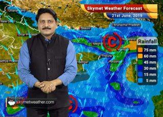 Weather Forecast for June 21: Good monsoon rains over Konkan Goa, Karnataka, West Bengal and Northeast states