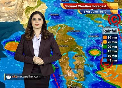 Weather Forecast for June 17: Rain in Kerala, Karnataka, Goa and Maharashtra likely