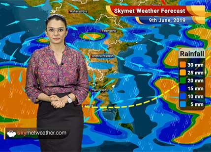 Weather Forecast June 9: Southwest Monsoon 2019 makes an onset in Kerala, to hit Northeast India anytime soon